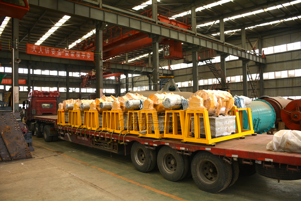 着眼全球 做品质设备 中嘉重工间歇球磨机批量出口巴西