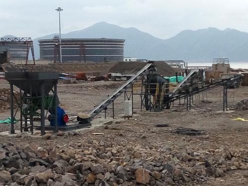 宁波时产40吨青石生产线现场视频