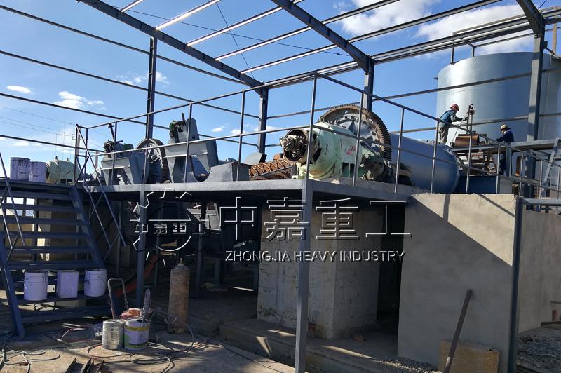 内蒙古四子王旗胜鑫矿业300吨萤石生产线现场案例(视频)
