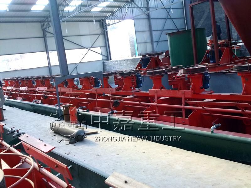 宁夏同基在刚果金日处理1000吨金矿生产线项目/