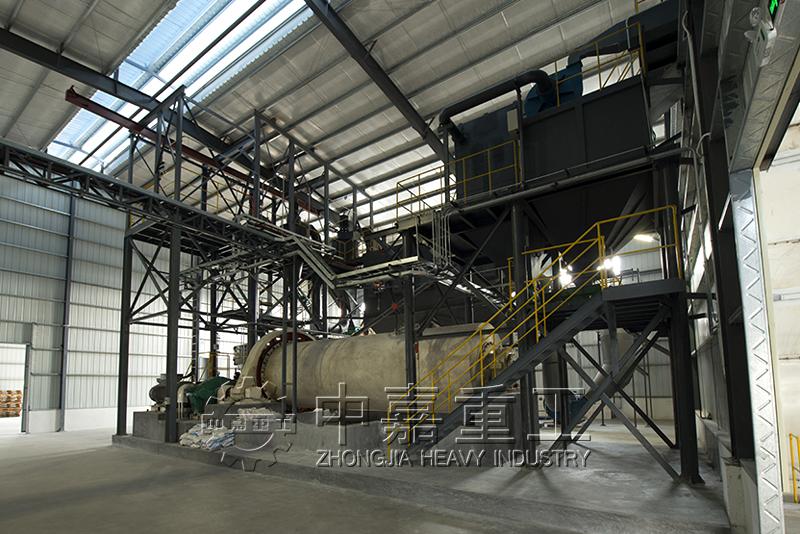 广东江门年产25000吨复晶砂粉生产案例/