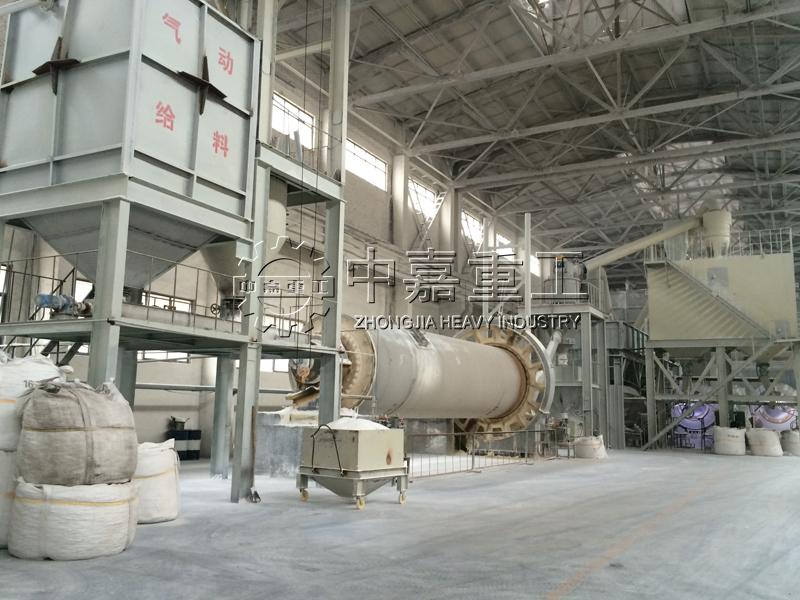 河南煜鑫高科年产5万吨板状刚玉生产线/